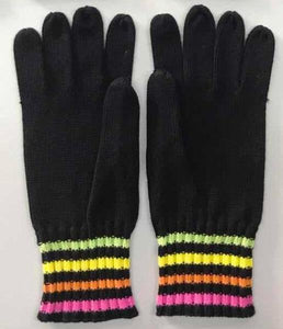 Woodstock Neon Texting Glove (made with anti-bacterial yarn)
