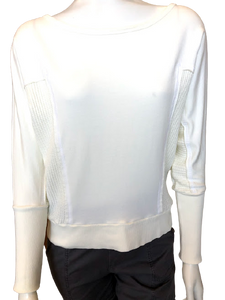 Side Insert Dolman Top
