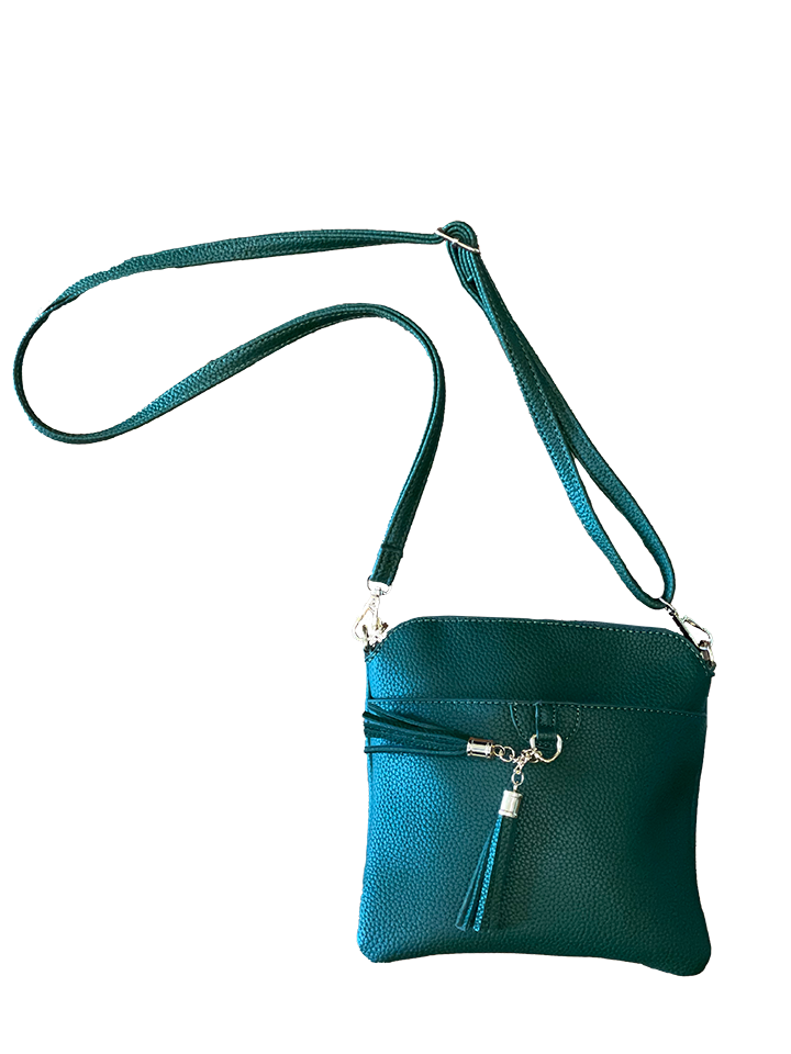 Crossbody Tassel Handbag