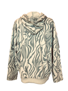 Zebra Print Hoodie (click to view more colors)