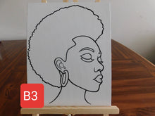 Load image into Gallery viewer, Black Women Paint Set