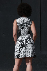 Women's 1921 Circles of Confusion Knot Dress