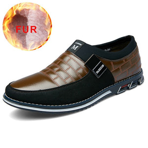 2019 Leather Shoes Men Men Leather Shoes Genuine Leather Casual Shoes