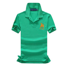 Load image into Gallery viewer, Polo Shirts Solid Casual Polo Tee Shirt
