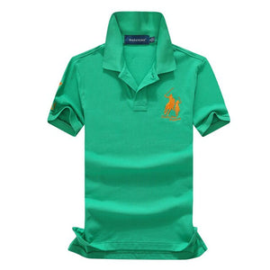 Polo Shirts Solid Casual Polo Tee Shirt