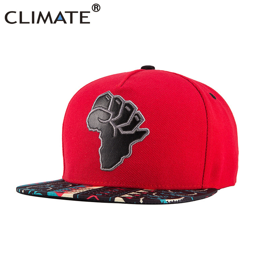 CLIMATE African Printing Snapback Cap