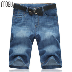 MOGU  Casual Denim Shorts