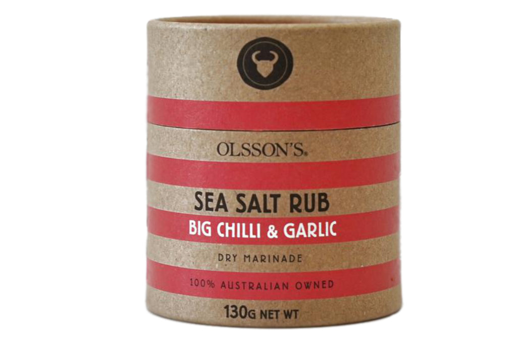 Big Chilli and Garlic Sea Salt Rub