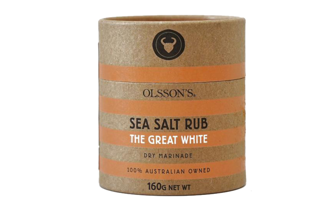 The Great White Sea Salt Rub