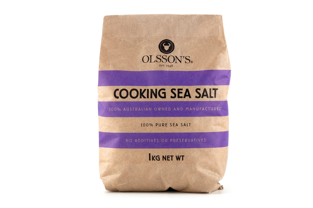 Cooking Sea Salt