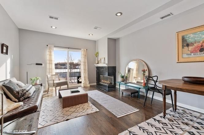 Eskell stages Logan Square Chicago apartments and more local homes for sale.