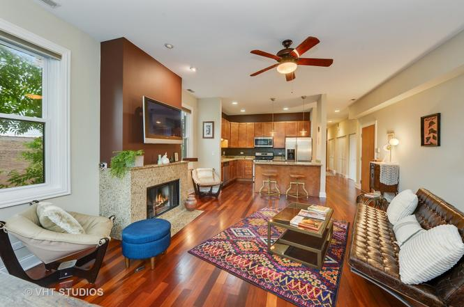 Eskell's West Chicago location makes it the perfect company for staging contemporary homes for sale in Bucktown Chicago.
