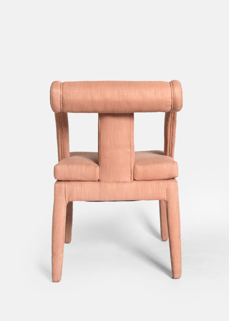 Vintage Pink Accent Chair