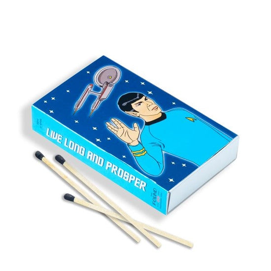 Spock Matchbook
