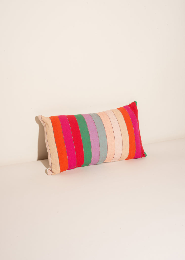 Multi-Color Stripe Pillow