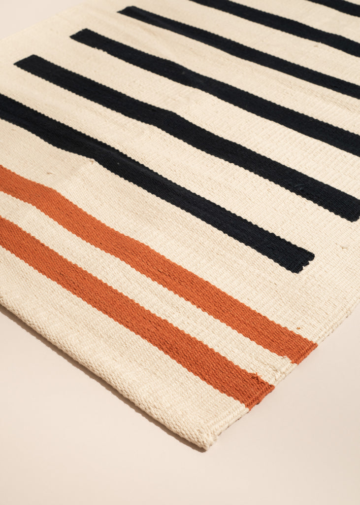 Nautical Kilim Bath Mat