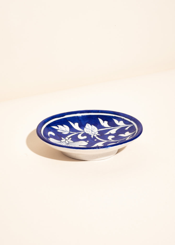 Medium Oval Stoneware Soap Dish