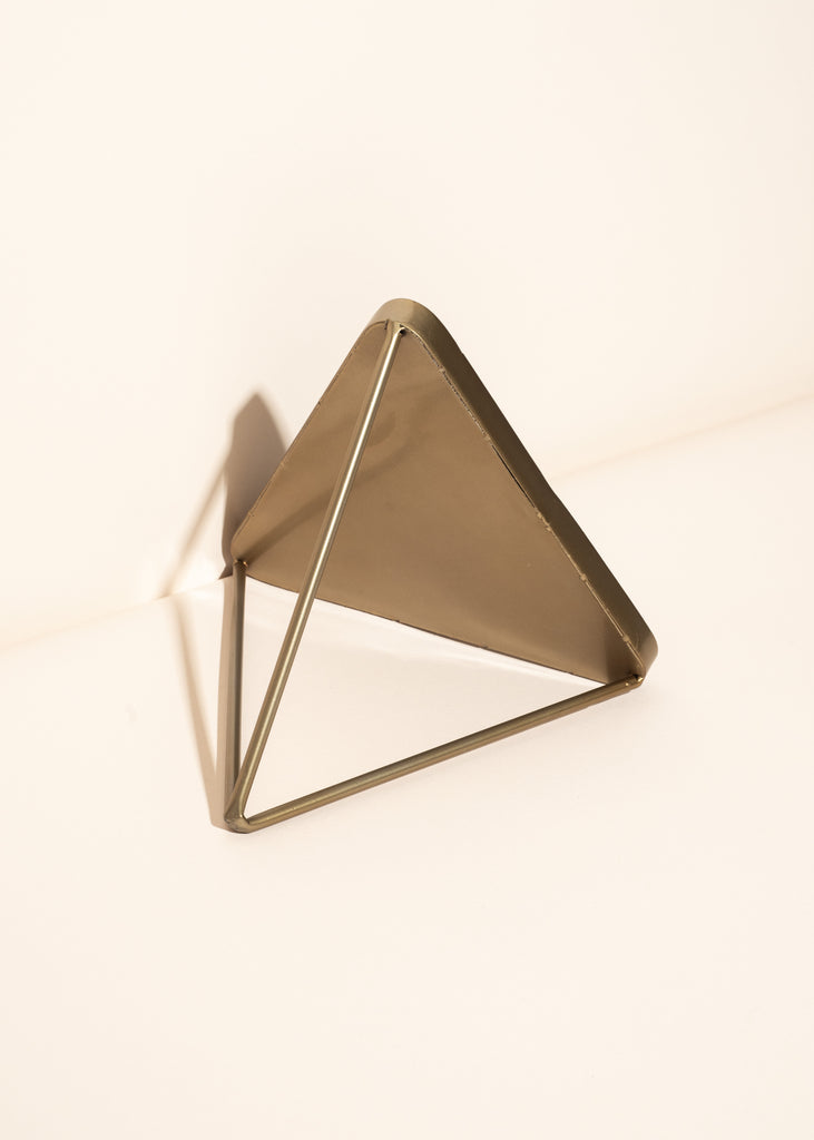 Triangle Table Mirror