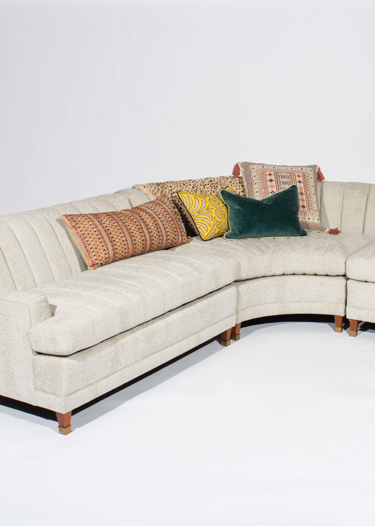 Eskell 3 Piece Channeled Couch
