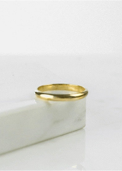 Well Rounded Stacking Ring