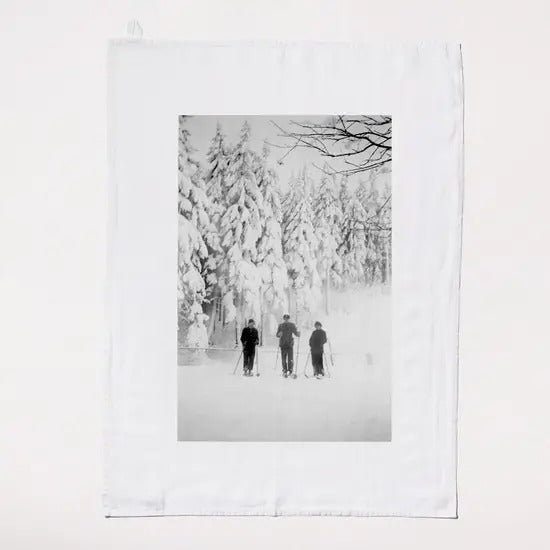 Forest Scene Tea Towel