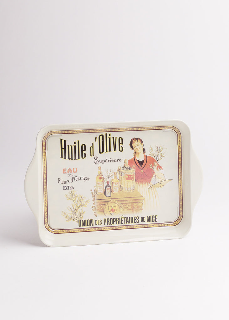 Huile d'Olive Metal Tray - Eskell