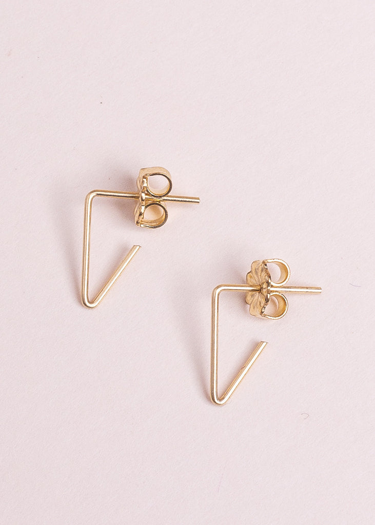 Mini Triangle Earrings - Eskell
