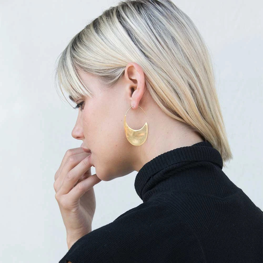 Mezi Gold Threader Earrings