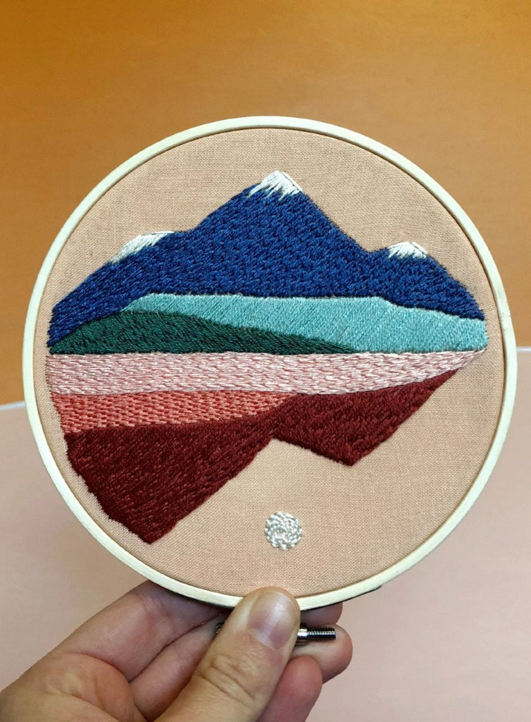 Mountainscapes Embroidery Kit