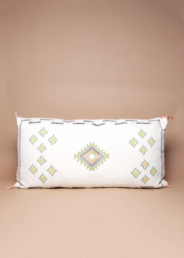 Palm Springs Cactus Silk Pillow - Eskell