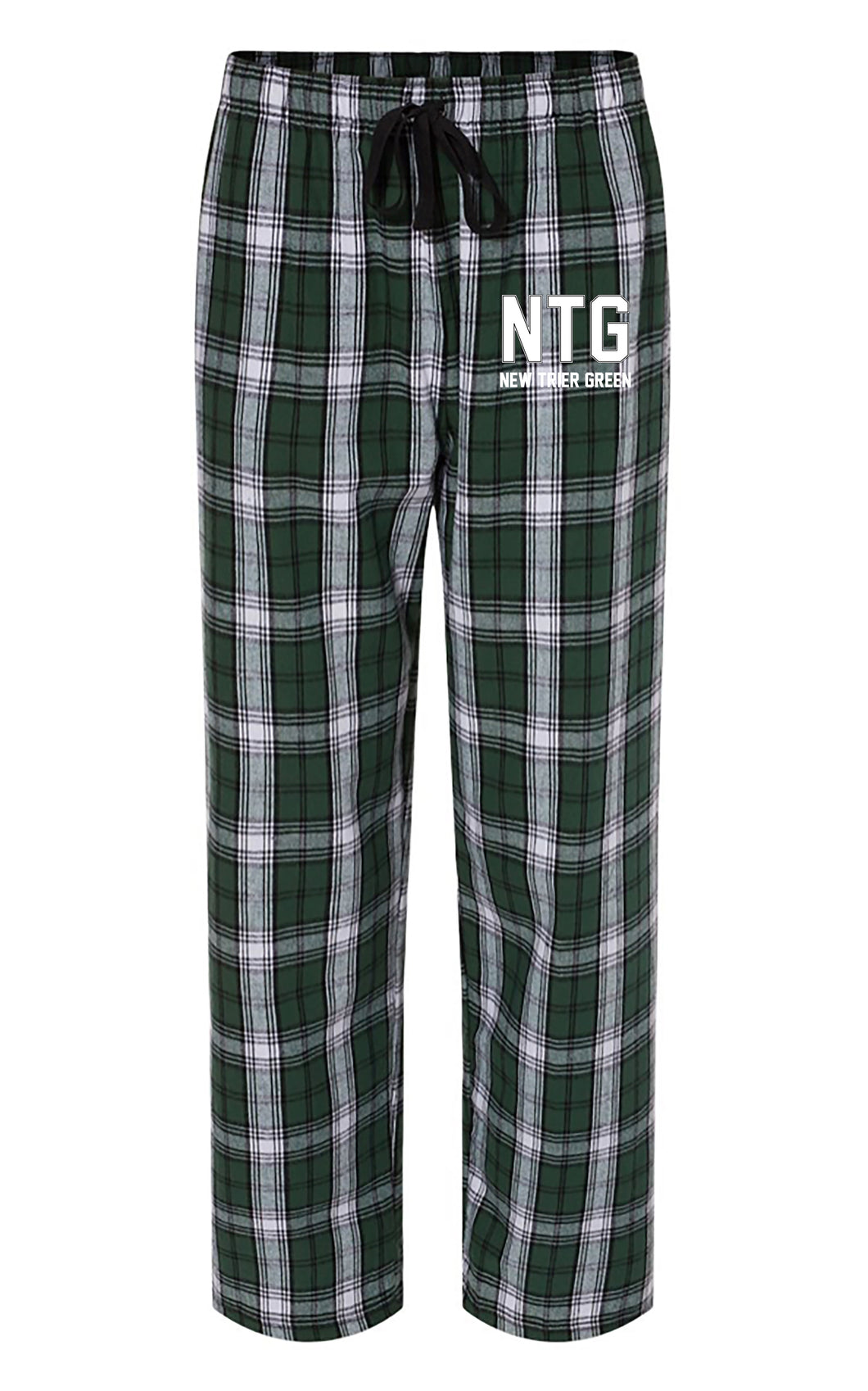 New Trier Green Hockey Flannel PJ Pant