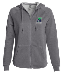 NT Women's Full Zip Hooded Sweatshirt