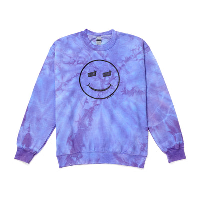 Tie Dye Sweatshirt - Purple