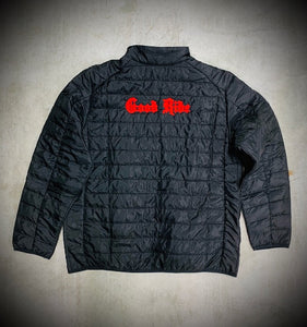 Men's Black/Red Puffy Jacket