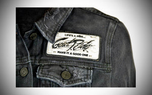 Women's Black Denim Jacket