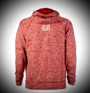 Heather Red/Silver Hoodie