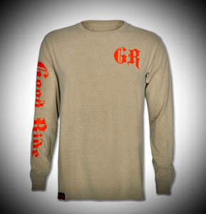 Men's Bay Shop Long Sleeve Tee Shirt w/ GR