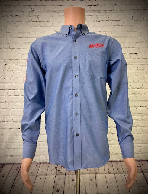 Men's Blue Dusk Show Shirt / Red  GR