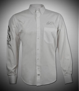 Men's White Show Shirt / Gray GR Logo
