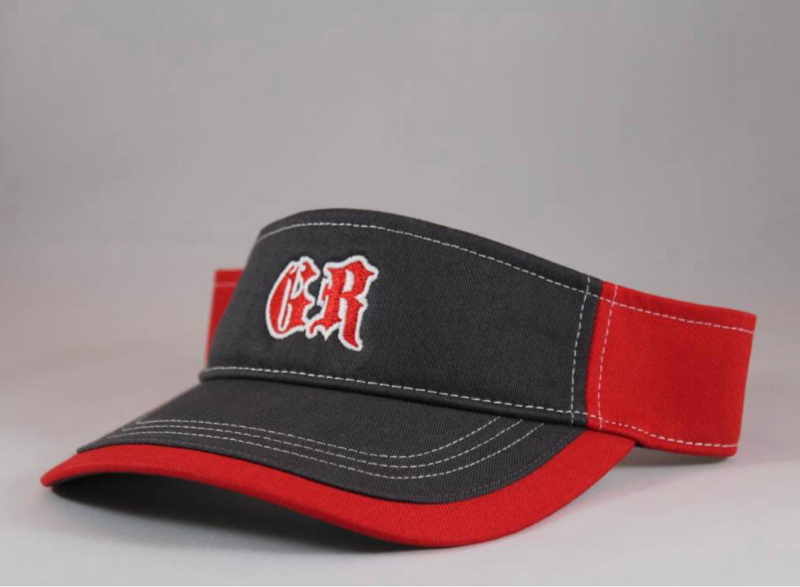 Black & Red GR Visor