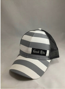 Gray & Black Women's GR Hat