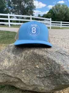 Light Blue 8 Hat / GR