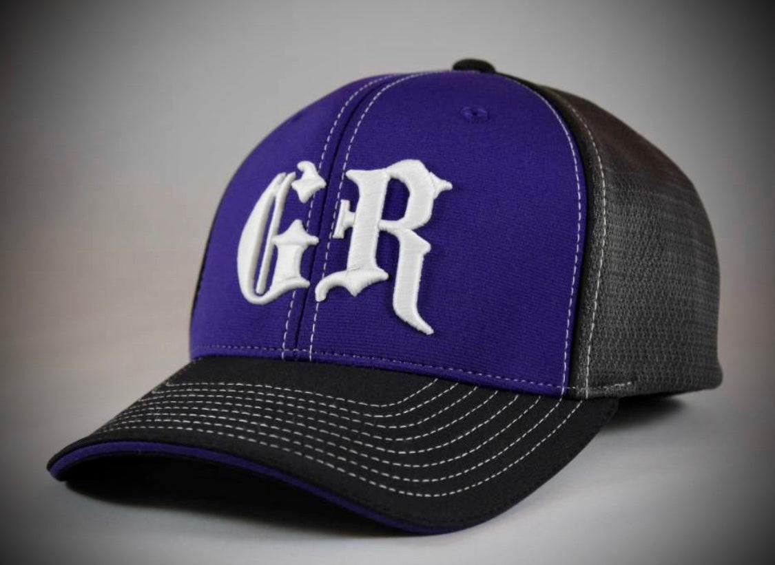 Black and Purple GR hat