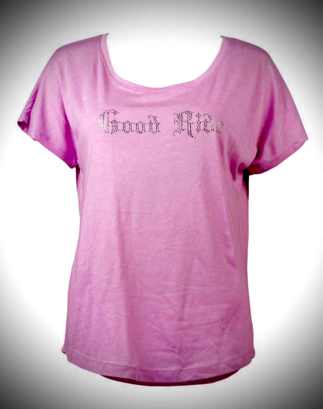 Women's Pink Crystal Tee Shirt w/GR