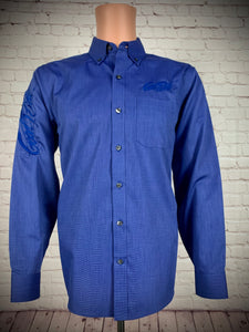 Men's Blue show Shirt / Navy Good Ride