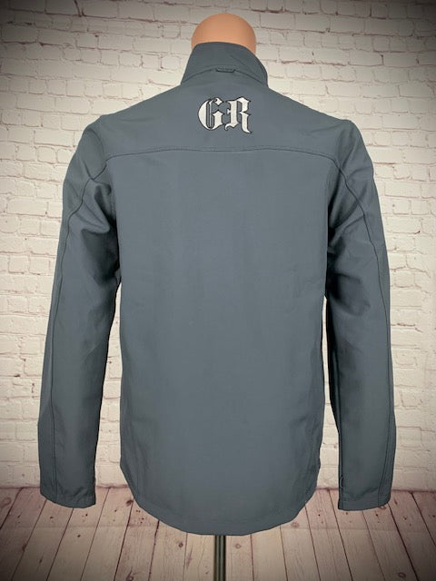 Men's Grey/Silver Soft Shell Jacket