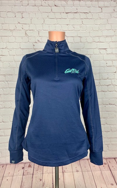Women's Royal Blue/Turquoise Pullover
