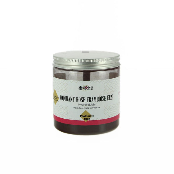 Colorant rose framboise hydrosoluble - 100G