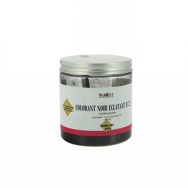 Colorant noir éclatant hydrosoluble - 100g