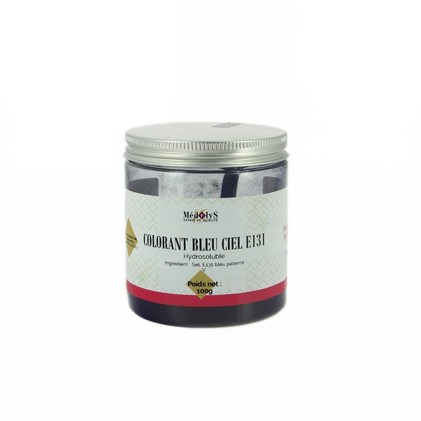 Colorant bleu ciel hydrosoluble - 100g